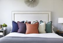 Pehr Pom Pom Collection / Where to begin with our new Pom Pom Collection?  They are our first heavy-weight 100% cotton napkin, pillow and runner with a beautiful handmade trim in an unexpected colour palette.  Mix them with our other collections or place them on their own. / by Pehr Designs
