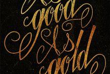 Gold & Black / by Gioia Di Paolo