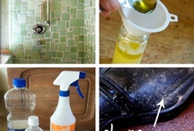Natural cleaning / Eco friendly cleaners, home made natural house cleaning, non toxic  / by Julie Taylor
