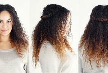 Beauty: curly hair styles / Hair style for people with naturally curly hair / by Christina Pena Pittre