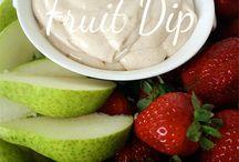 Dip for fruit tray / by Kira Johnston