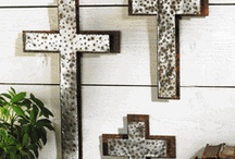 Pieces to add to my Cross Wall / by Suzanne Wells