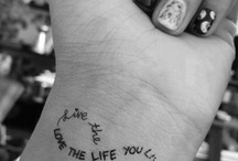 Tattoos / by Alainah Williams