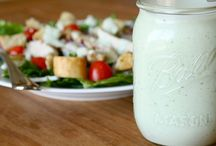Salads & Dressings. / by Kaylyn Manning