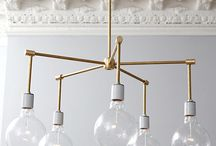DIY Chandelier / by Michelle Rinosa-Sy