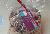 Homemade Granola / Healthy granola!  / by Pamela's Heavenly Treats