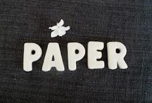 Avec du papier / by Is AC Tjs-dvt Son-ordi