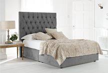 Fabric Bed and Furniture / An Upholstered or fabric bed makes a bedroom feel comfortable and inviting, we share with you our top decor ideas for bedrooms with an upholstered or fabric bed.  / by Time4Sleep