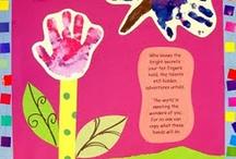 Handprint/footprint ideas / by Jeanne Patterson