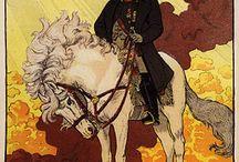 Horses / Vintage Posters / by Yaneff International Fine Art
