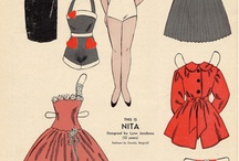 paper dolls / by Lee Smith