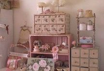 Craft Room Ideas / by Pamela Waters