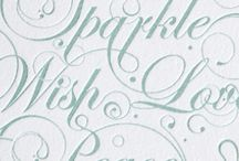 Typography / I love typography. I love writing. I love letters.  / by Christin