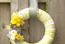 Wreaths / by Tara Riecken (The Magnolia Barn)