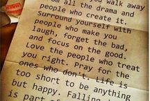Words To Live By / by Patti Renegar-Fay