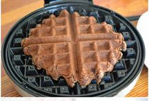Waffle Creations / The things you can make with a waffle iron! / by Liz Myers