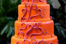 Colors - Orange / by The Big Fat Indian Wedding®
