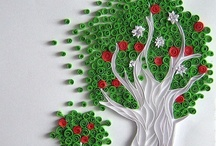 Trees-Quilled / The art of quilling trees / by Helen Pierce