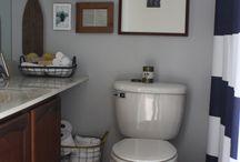 boys bathroom / by Sandi Hostetler Foust