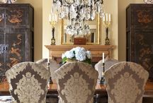 Dining room / I feel a dining room should be warm & inviting but still elegant enough to enchant your guests... / by JoDina .