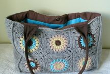 Crochet - bags & totes / by Amy Fenner