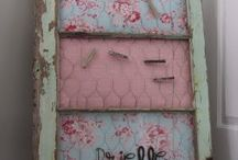 Old windows / I love old windows, painted, or just old looking, so cool.  / by Kim Rice