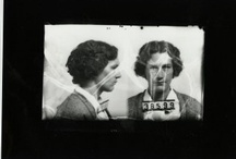 Mugshot Mondays! / This is a series of weekly posts highlighting inmate mug shots in the records of the Virginia Penitentiary.  This series includes inmate photographs of the famous (or infamous), photographs that document the aging process of long-term prisoners, and any other photographs that we found interesting.   / by Library of Virginia