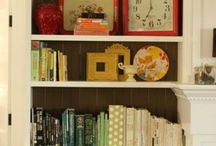 Bookshelves / by Kara Martin