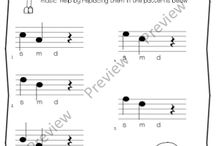 Music Ed Melody Ideas / by Emma Jencson