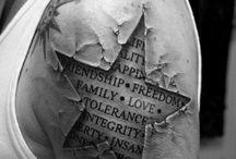 tattoos and art / by Jennifer Mitchell