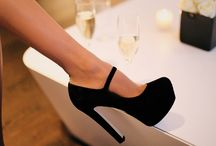 The Higher The Heel, The Closer To Heaven / I would wear high heels everyday if I could =) / by Amy Hendrix