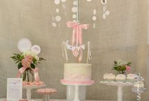 'Shower themed pink and bling shower' / Baby Shower / by Aurelia-Lynn Smith