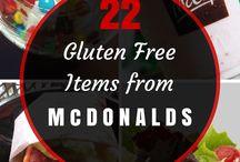 gluten free / by Egena Colville