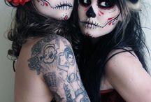 Halloween makeup / by April Kettler