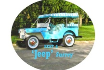 Willys DJ Models / by Kaiser Willys Auto Supply
