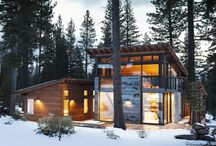Modern Mountain Homes / by Printing Grounds