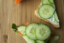Sandwiches!  / Let's make a sandwich-add some lettuce, tomato, pickles, you get my point! =) / by stephanie