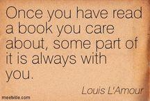Reading quotes / by Kieran Kramer