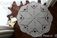 Crochet doilies, blanket, squares etc.-liinat, peitot , ruudut jne. / by Sirpa Nerola