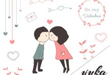Luvly designs / Luvly.co is a fantastic digital design marketplace, selling graphics, images and vectors.  / by Amanda Lee