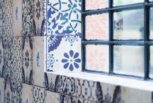 Colour - Blue Tiles / by myTILE