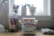 studio office & craft rooms / by Heidi
