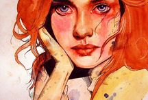illustrations / by Jasmine Perfect