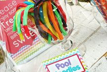 BEACH/POOL PARTY / What could be more fun than a party at the beach or by the pool?  This board contains cute ideas and fun decorations.  Now, go plan your party! / by Tonja Owens