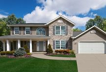 The Wilmington / Photos from our newly redesigned Wilmington Family Model! www.waynehomes.com / by Wayne Homes