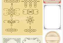 Printables & Fonts / by Heather Rousseau