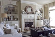 Bookshelves ~ Bookcases ~ Cabinets ~ Display / by The Decorated House ♛ Donna