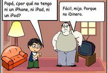Comics-Spanish / Tiras Comicas, Chistes, y Memes en español / by Spanish Plans