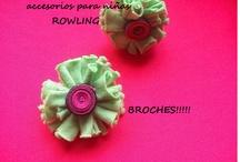 colores divertidos / mas vinchas !!! abrojitos y brochesitos / by DISEÑOS ROWLING