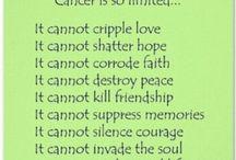 Cancer sucks! / by Shae Farmer